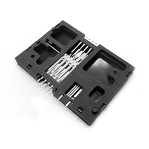 SMART CARD 8P PROFILE 5.7MM LANDING SMT