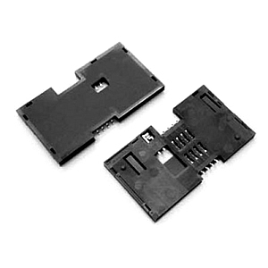SMART CARD 8P PROFILE 3.4MM SLIDING SMT