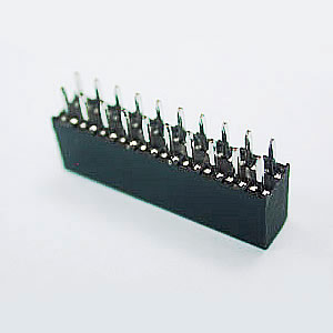 Dual Row 04 to 80 Contacts Straight Type