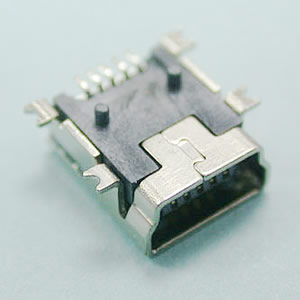 5 Contacts AB & B Female SMD Type