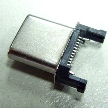 USB 3.1 Type C Plug 12+10 Position Connector