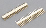 Pin -Header- Strips- Single row-2.50mm pitch   profile:3.3mm