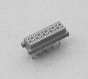 660C series - Female On Board Top  Entry Type  1.27 Pitch (Micro - Match connector) - Weitronic Enterprise Co., Ltd.