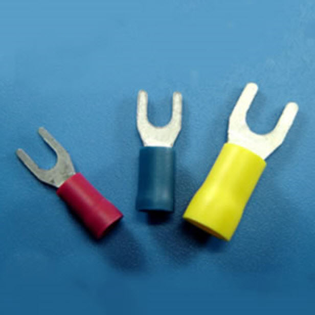 321032/DS3-1  - Spade Terminals -Vinyl Insulated ( PVC )  - YEONG CHWEN INDUSTRIES CO.,LTD.