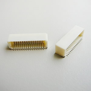 1.0 mm Dual Row Right Angel